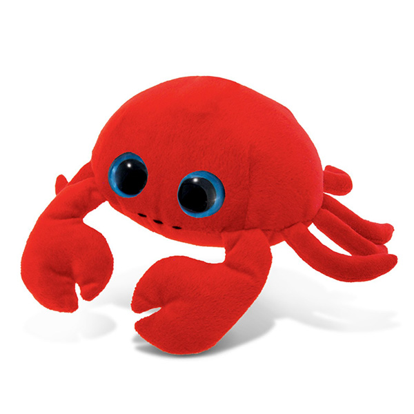 Factory Custom Plush Red Crab Stuffed Crab Soft Toy Sea