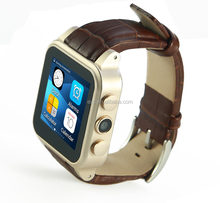ODM OEM Smart watch phone, 3G/GPS/SOS Android smart watch, MTK6572 Chip smartwatch wifi facebook email