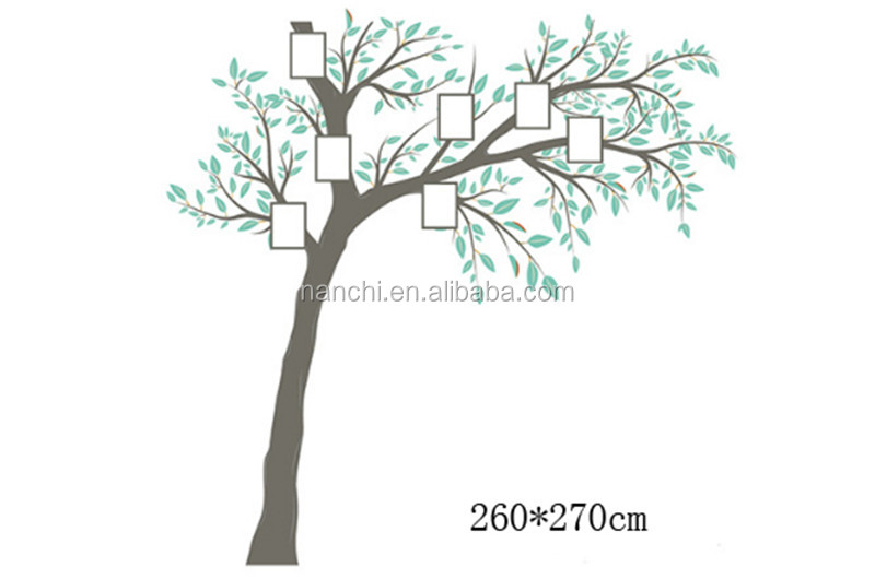 Photo of big tree wall sticker for family decoration living room bedroom wall decals removable waterproof murals