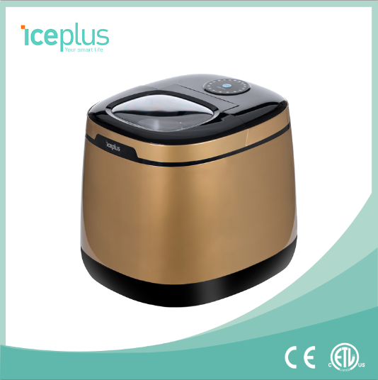 Hostess Compact ice maker With Luxury Appearance, portable ice maker from factory