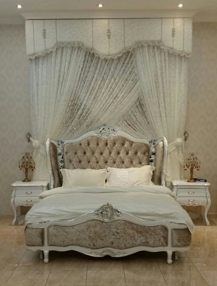 Antique White Headboard