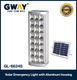 solar panel charge led emergency lantern 24led light