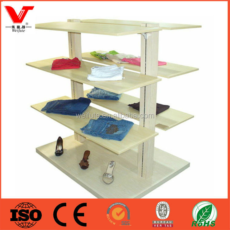 Buy Wholesale Direct From China 2015high quality wall mount clothes store fixture display rack