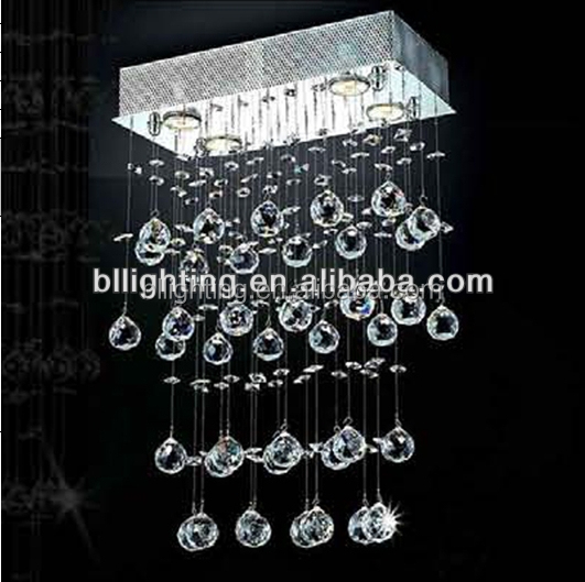 Modern fancy lighting crystal hanging decorations
