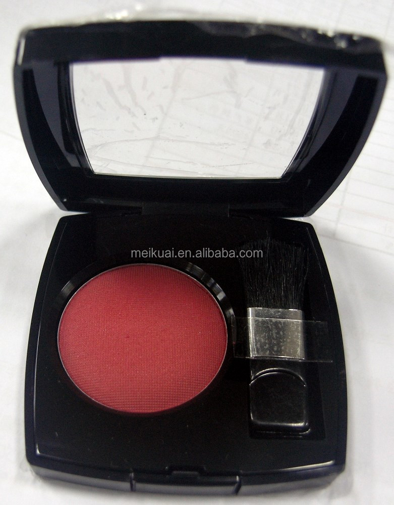 2014 Hot sale High Pigmented Pressed Blush and Compact Powder for Cheeks and Face Taiwan cosmetics