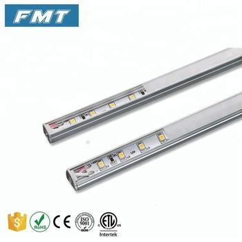 China Portable Magnetic Aluminium Under Cabinet Led Light Bulb Closet For Shelf Lighting 24v Pop Display
