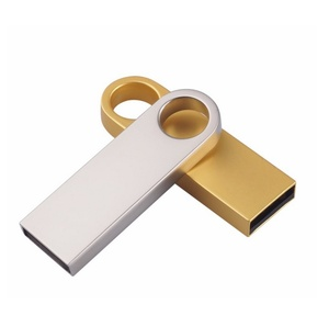 Hot Sale Custom Logo Polishing Metal Usb Flash Drive Usb Stick 2.0 3.0 3.1 Usb Memory Stick 8g 16g 32g 64g Pendrive