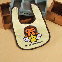 cheap disposable plastic adult bib aprons OEM Baby Bibs