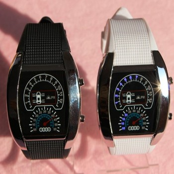 Digital Sport Car Meter Airline Watch Led Buy Watch Led Sport Car
