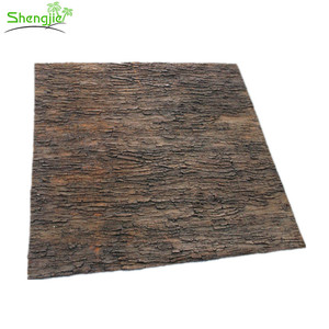 Wholesale price decorative artificial palm tree bark