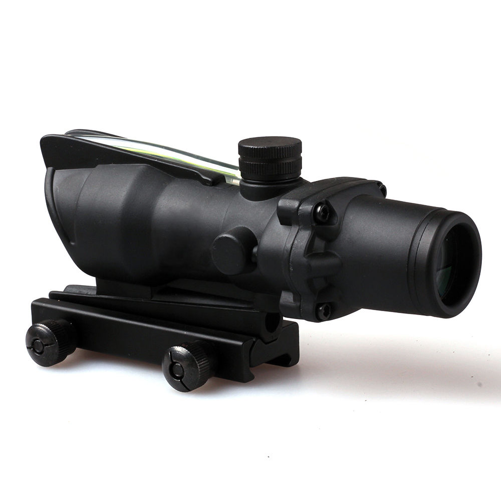Tactical Hunting Airsoft NEW 4X32 Style Rifle Scope Sighting Black