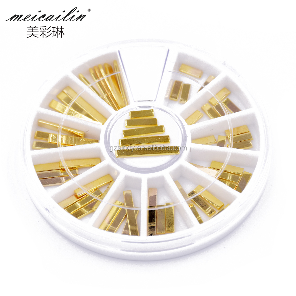 Metal Alloy Golden Stick for Nail art decoration