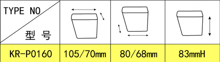 Custom Shape Design 83mm Height Adjustable Sofa Leg Cone Furniture Leg For Furniture