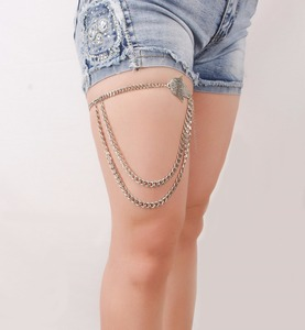 Factory wholesale mixed patterns top selling leg body chain jewelry