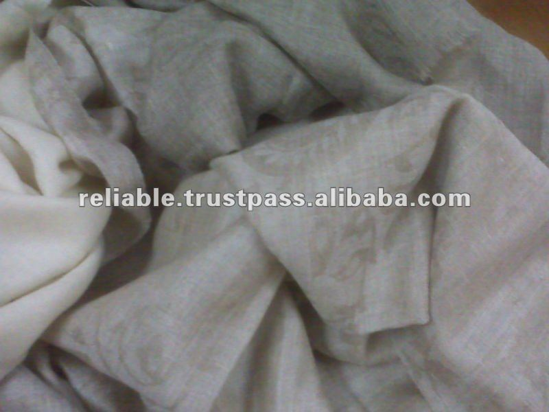 100% Pure Cashmere / Pashmina Wool shawls with Self Designs