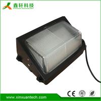 High lumen waterproof outdoor LED wall pack light for garden