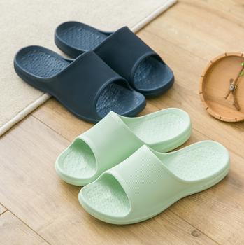 fac1ffcac Women Men s Slip On Slippers Non-slip Shower Sandals House Mule Soft Foams  Sole