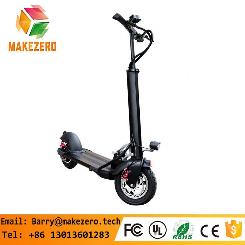 T bar lightweight electric mobility scooter with shock suspension