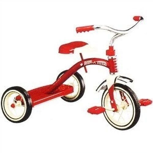 "New In Box Radio Flyer #34 Classic Steel Red 10"" Tricycle Steel Hot Sale!!"