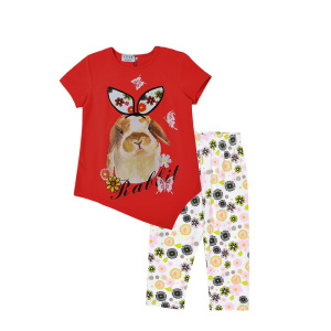 Children Kids Girl Leggings and T shirt Outfit