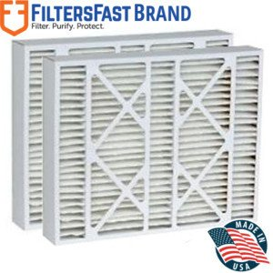 """FiltersFast Compatible Replacement for Goodman M1-1056 MERV 11 Air Filter 2-Pack-16x25x5 (Actual Size: 15-3/8""""x25-1/2""""x5-1/4"""")"""