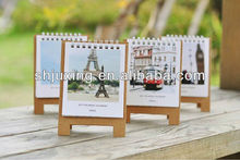 beautiful table calendar design 2013