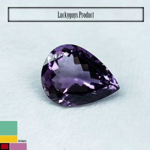 For sale African Amethyst Cut Stone shape polished Clear Gemstone