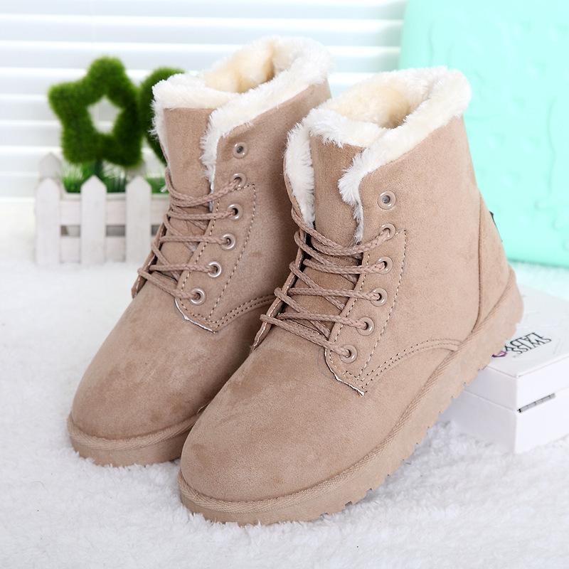 7cc8e9622319 Снегоступы зима ботильоны женские сапоги обувь плюс бархат наличники обувь  бота feminina 2016 на платформе модные. 1 фото  2 фото ...