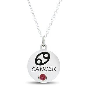 Zodiac Necklaces Cancer Birthstone YIWU Necklace Jewelry Factory