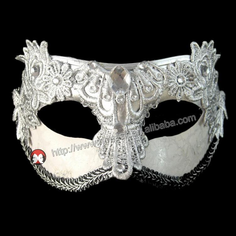 NERO VENEZIANO Masquerade Maschera Occhi Halloween Festa Pizzo Costume