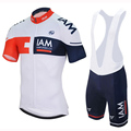 2016 IAM Team Pro Bicycle Cycling Clothing Cycle Clothes Wear Ropa Ciclismo Sportswear Mans Racing Mountain