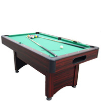2015 cheap and foldable pool table/billiard table for family entertainment