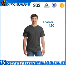 wholesale men women custom t shirt printing with customise logo accept printing Sublimation heat press machine t-shirt
