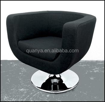 Fauteuil Lounge Chair Mathi Design Laine Violet Living Room Swivel