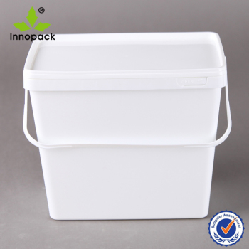 3 8l 4 Liter Plastic Rectangular Bucket 1 Gallon