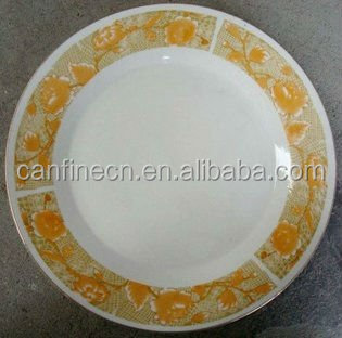 2017 new design HOT selling brass dinner plate