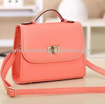 Woman Elegant Sling Bag With Long Belt Strap Las Cute Messenger S Small Bags For