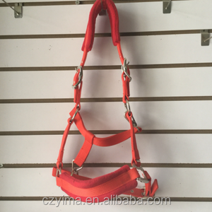 Polar fleece horse bridle riding bridle full leather bridle