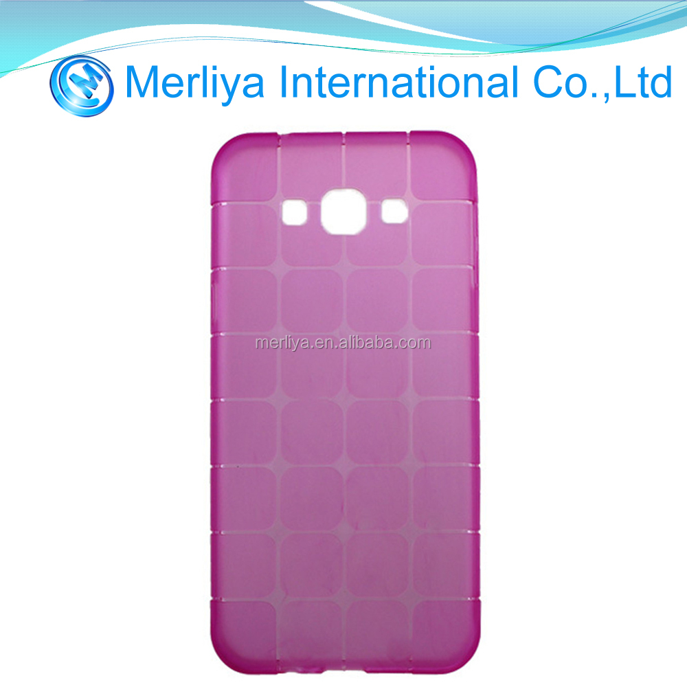 four squares Crystal tpu case for Samsung A8