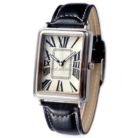 latest products classic vintage water resistant leather band women watch