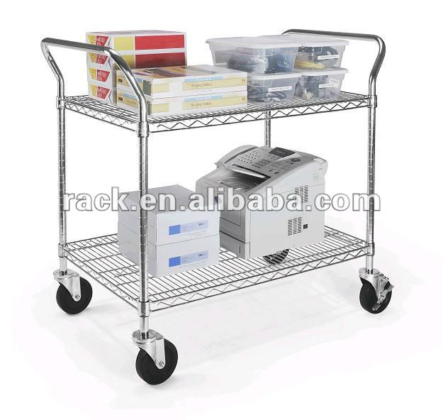 Info 2 Shelf Cart Travelbon.us