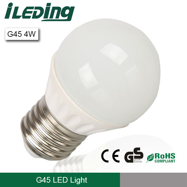 Ce Rohs Gs G45 E27 4w Global Led Bulb