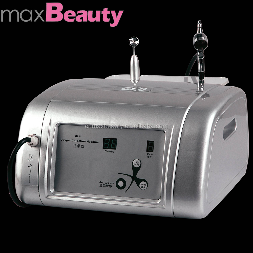 skin rejuvenation facial Oxygen sprayer and jet peel beauty salon equipment