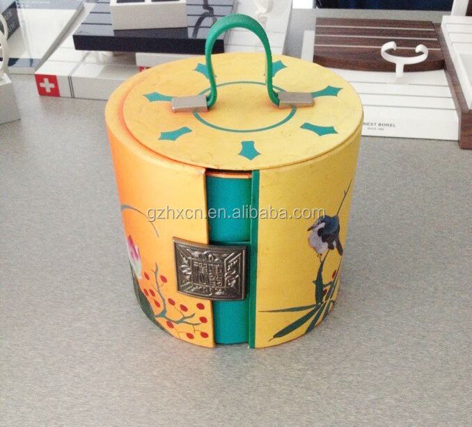 Attractive round cardboard boxes round box cardboard cylinder packaging box for cup packaging