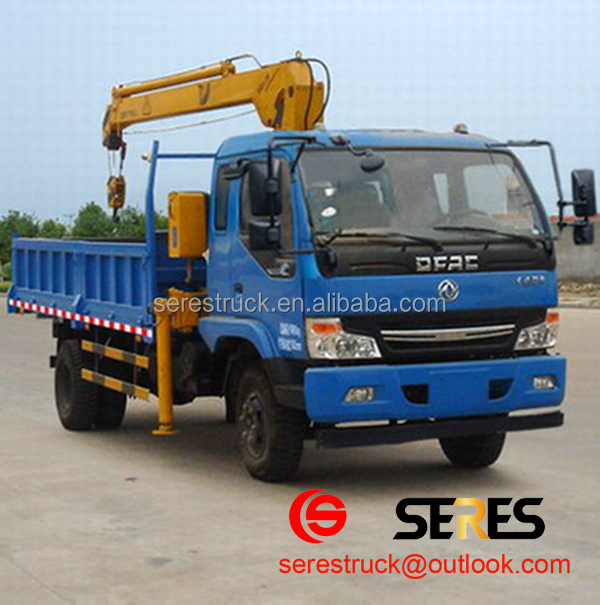 Dongfeng truck crane 6x4 20 ton hydraulic truck crane knuckle boom truck mounted crane for sale