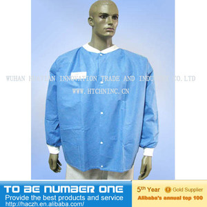 plastic lab coat...medical lab coat..lab coat metal cabinet