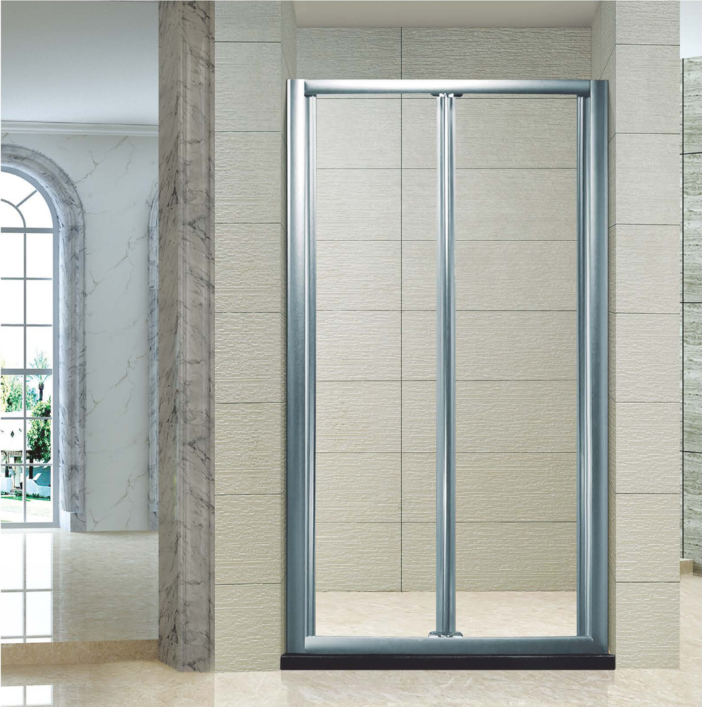 The Best Custom 2 Fold Bath Shower Screen Pivot Bifold Door 2