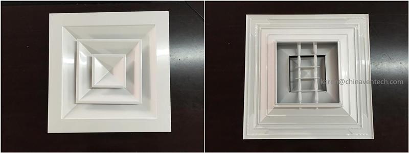 square ceiling diffuser(SCD-VA)