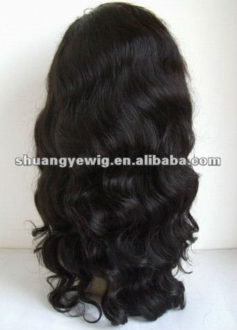 Good price for brazilian hair lace front wig in stock