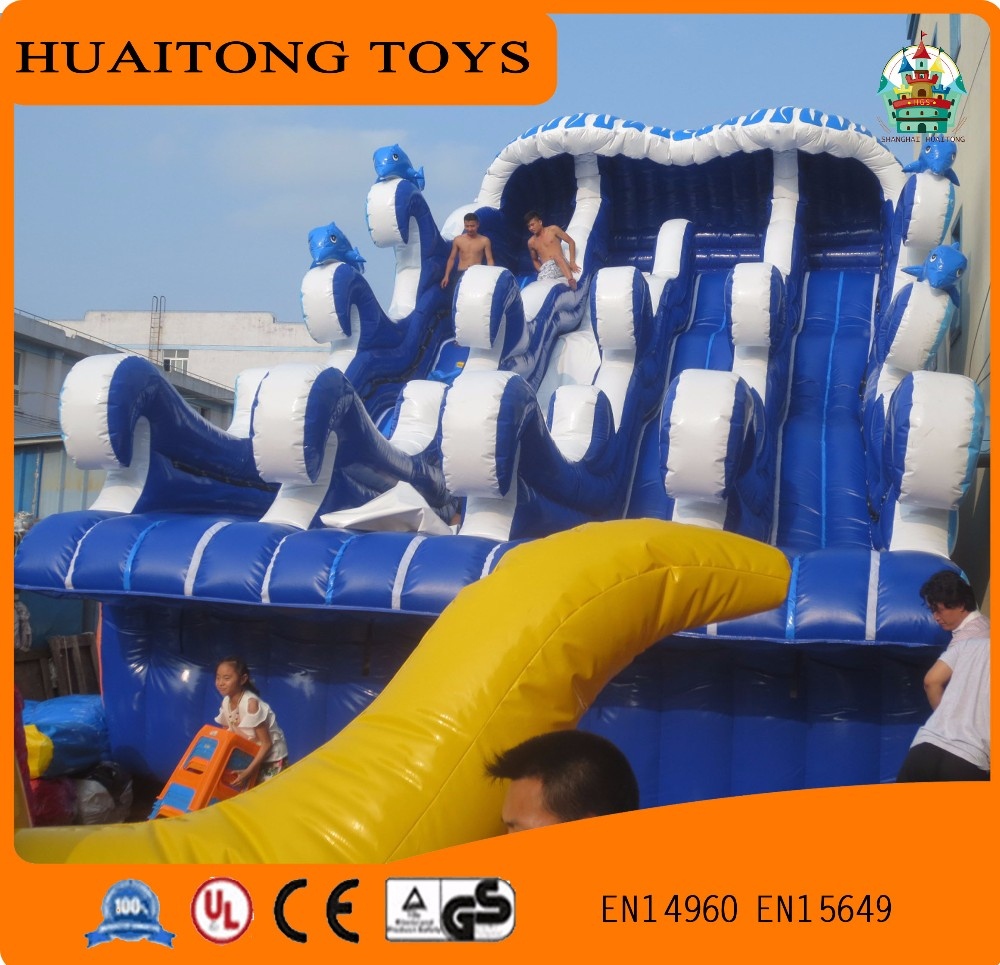 new type giant outdoor inflatable water slide for adults or kids
